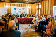 Sajtótájékoztató a REGINA konferencián